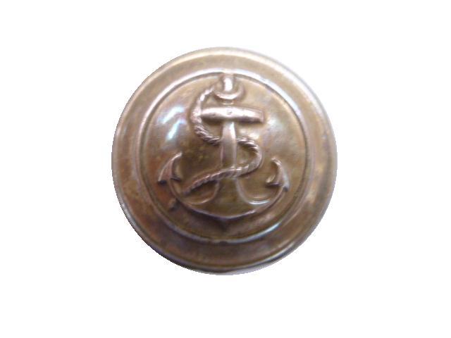 Brass Naval First World War button