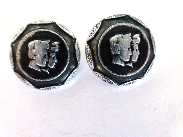 Pair of Gemini Twins buttons