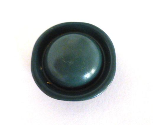 Antique Green Dome button (no.00974)