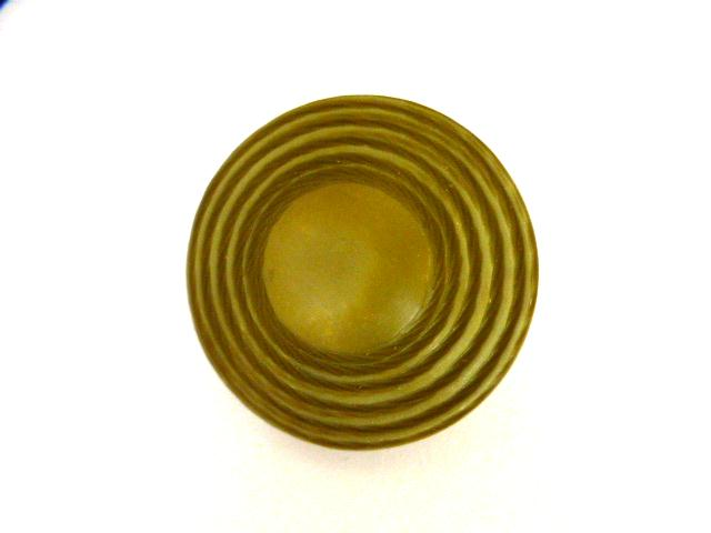 Sage Green UFO button (no.00921)