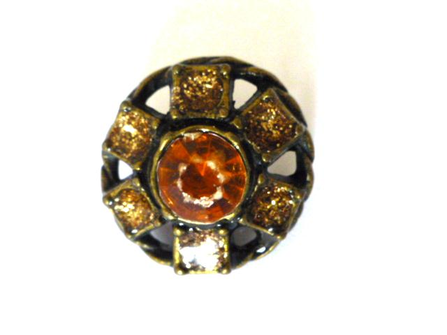 Topaz Sparkle button
