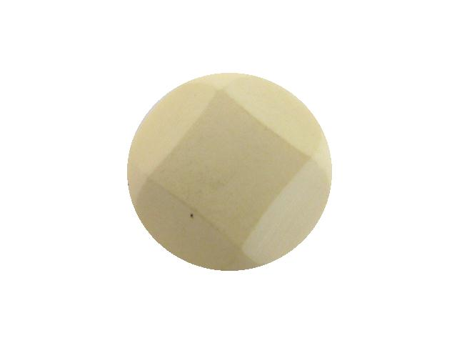 Cream White Cut-Style Large button (no.00953)