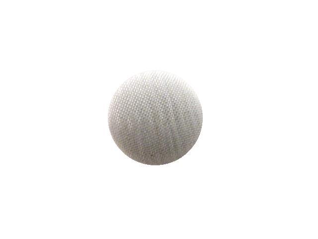 White Stripe Satin Weave button (no.0733)