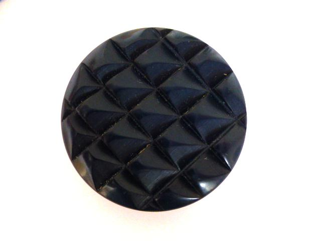 Navy Blue Extra Large Reptile button (no. 00946)