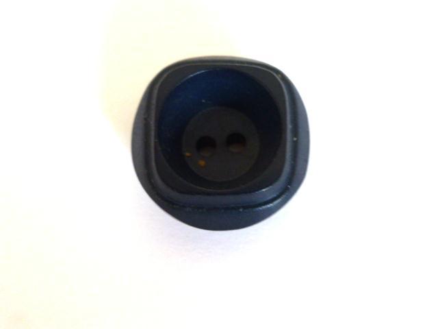 Dark Blue Recess Centre button (no.00970)