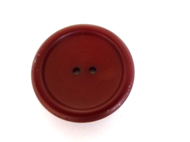 Maroon Red Rounded Edge button (no.00544)