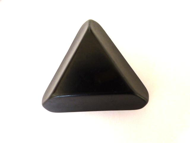 Forest Green Extra Large Chunky Triangle button (no.001128)