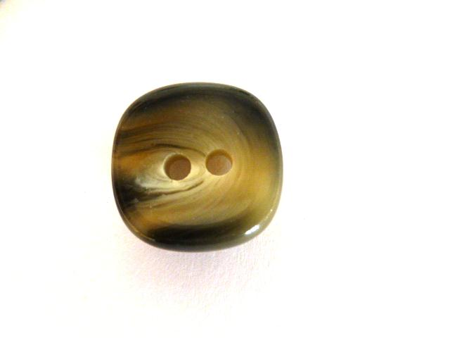 Horn Effect Rounded Square Small button (no.01066)
