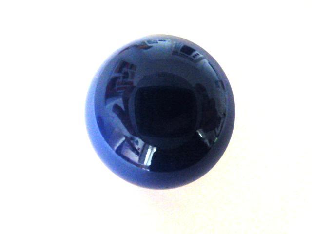 Bakelite Shiny Royal Blue Dome (no.01147)