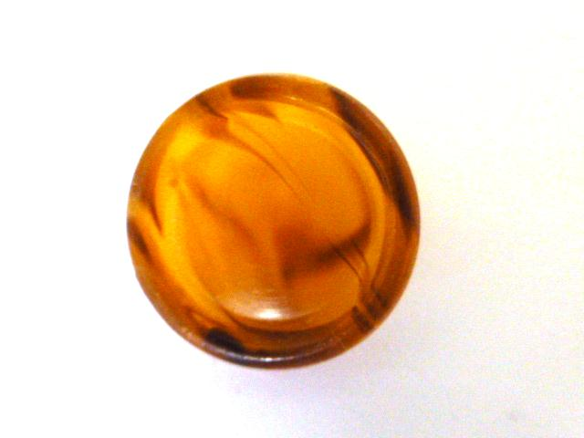 Amberine Tortoiseshell button (no.00643)