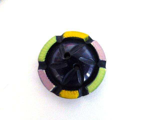 Multicolour Purple Small button