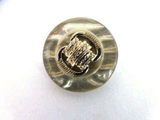 Silver Grey button