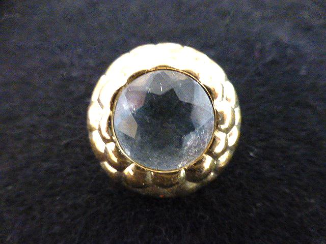 Diamond Centre Gold Frame button