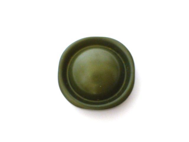 Antique Khaki Green Dome button (no.00872)