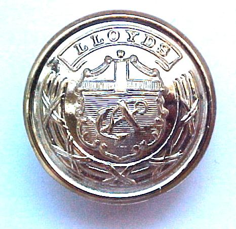 LLoyds of London Uniform button (No.00204)