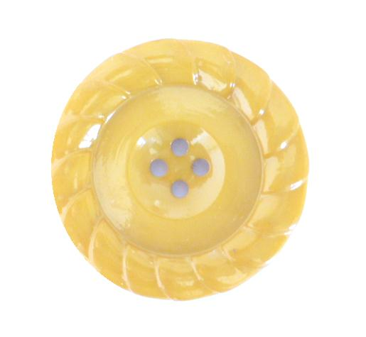 Large Mustard button (no.00215)