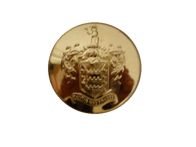 Coat of Arms Large button (no.00606)