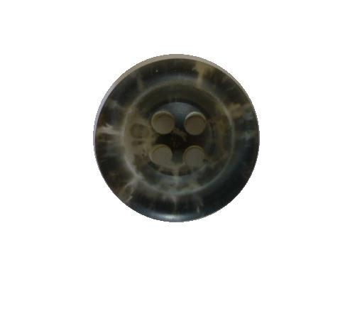 Dark Charcoal Tortoiseshell Sleeve button (no.00579)