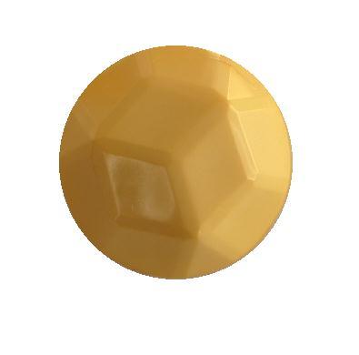 Cream Facet Dome button (no.00389)