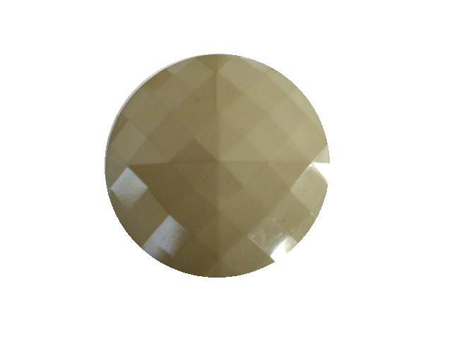 Pale Sage Green Square Facet button (no.00419)