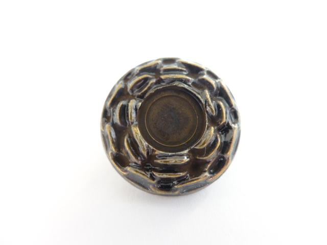 Bronze Chain Medium button (no.00436)