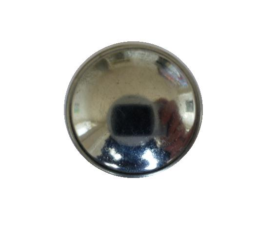 Chrome Dome by Gaunt, London button (no.00611)