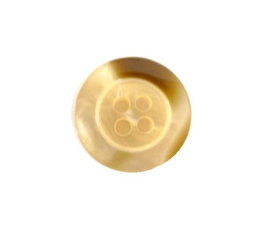 Gold Brown Mother-of-Pearl Effect button (no.00115)