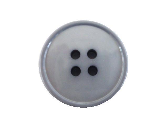 Dove Grey 4-Hole button (no.00489)