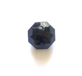 Jet Glass Currant button (no.00522)