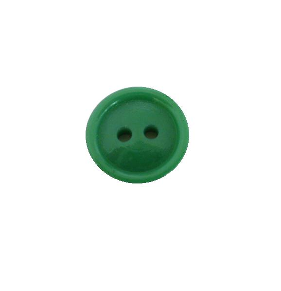 Green 1940's Small button (no.00517)