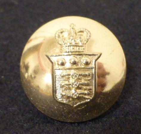 Dome 'Stay Bright' Heraldic Shield button (no.00608)
