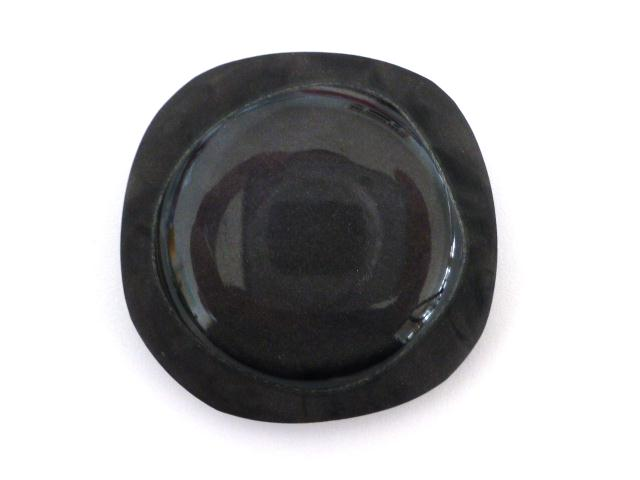 Slate Grey Jukebox Extra Large button (no.00632)