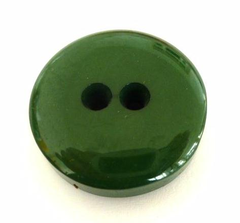 Thick Fat Bottle Green button (no.00638)