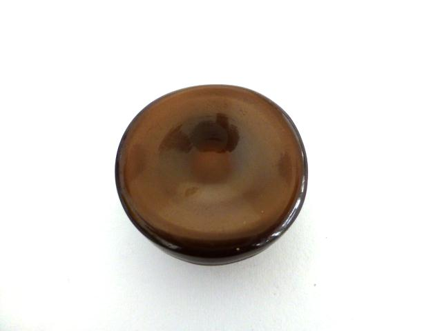 Brown Dimple button (no.0621)