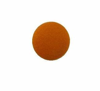 Tangerine Satin button (no.00731)