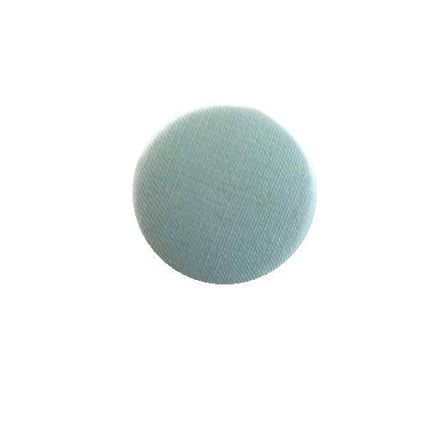 Egg Shell Blue Fabric button (no.00738)