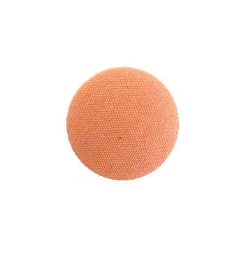 Angel Skin Coral Fabric Covered button (no.00739)