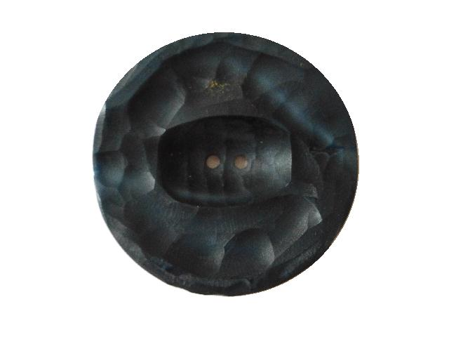 Dark Blue Chiseled Button (no.00691)