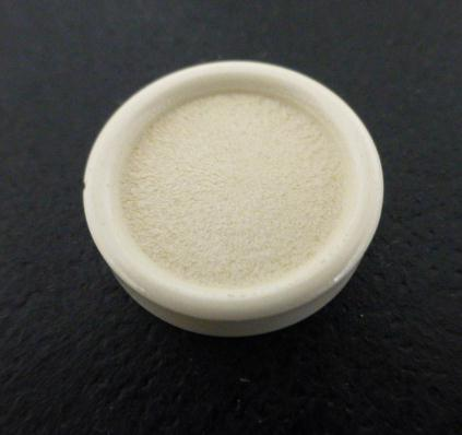 Cream White Round Rim button (no.00248)