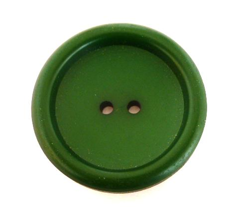 Green French 1940's button (no.00278)