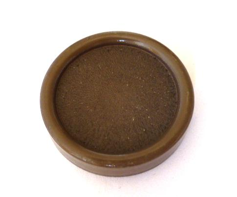 Dark Mink High Rim Button (no.00564)