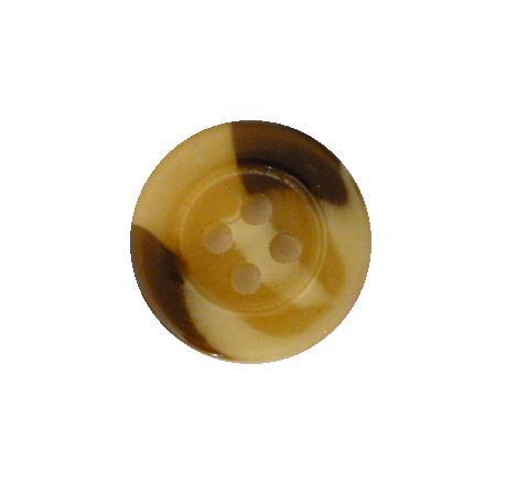 Horn Effect 4 Hole Sleeve/Shirt button (no.00116)