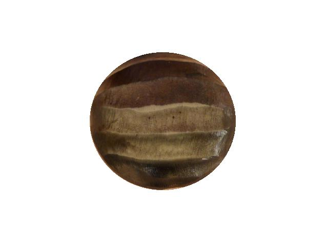 Grey Light Glow Ridged button (no.00674)