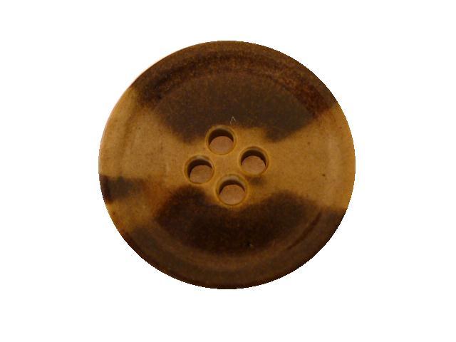 Vintage Beige Tortoiseshell button (no.00588)