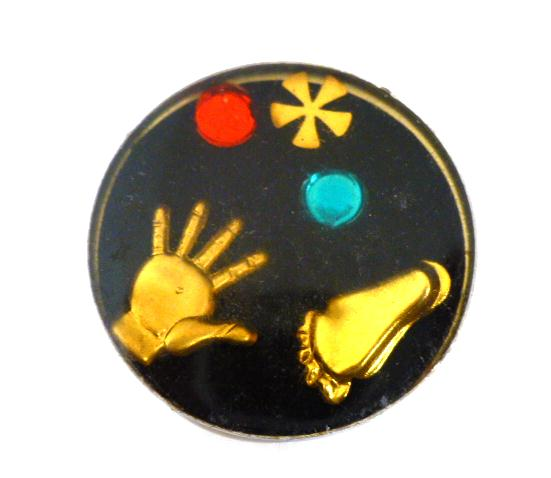 Treasure 'Hands and Feet' button