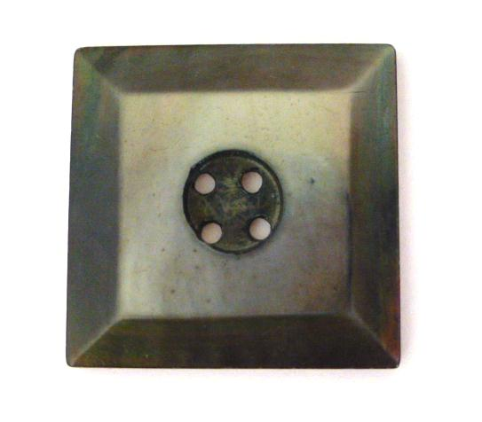 Dark Grey Large Square Mother-of-Pearl buttons (no.00744)
