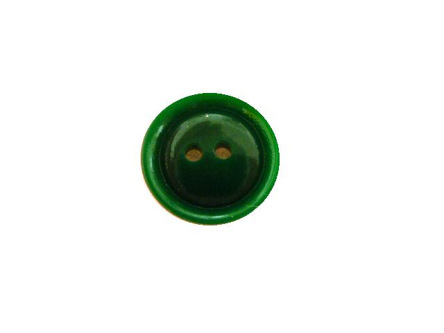 Leaf Green Small 2 Hole button (no.00526)
