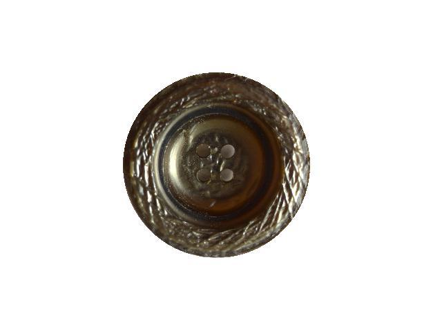 Dark Grey Small Bucket-style button (no.00703)
