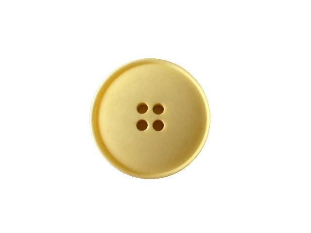 Buttermilk Plain 4-Hole button (no.00500)
