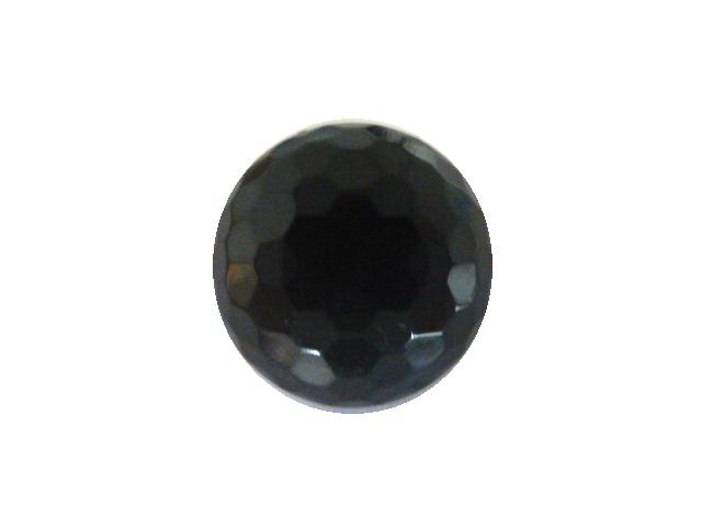 Dark Kharki Hexagonal Facet Dome button (no.00790)